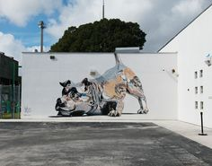 Two Miami Schools Enveloped in Murals : The RAW Project in Wynwood : Brooklyn Street Art