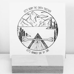 Design I made for client a while back! Really wanna do more stuff like this! #illustration #illustrator #design #sketch #drawing #draw #linework #dotwork #blackwork #blackworkers #iblackwork #blackandwhite #art #artwork #artist #artistic #instaart #landscape #lake #mountains #quote #wanderlust #travel #tattoo #ink #circle #evasvartur #instafollow #followforart