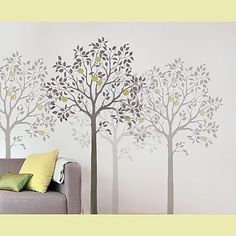 Large Fruit Tree Stencil $99.95
