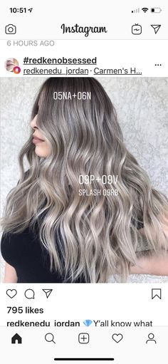 Gorgeous Balayage Hairstyle Trends You can Copy Now Redken Hair Color, Hair Foils, Redken Hair Products, Hair Color Formulas, Advanced Hair, Hair Color Techniques, Ombré Hair, Work Hairstyles, Hair Highlights