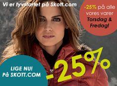 -25% på størstedelen af vores varer lige nu! :)