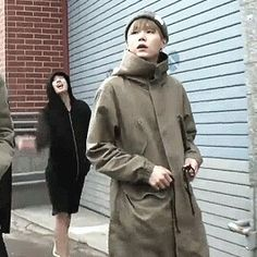 Jungkook in the background.
