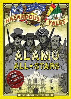 Nathan Hale contributed a Hazardous Tale to Comics Squad: Lunch! There are currently six volumes in the Nathan Hale's Hazardous Tales graphic novel series. These non-fiction books make history come alive for young readers and offer strange and unique facts about American History!