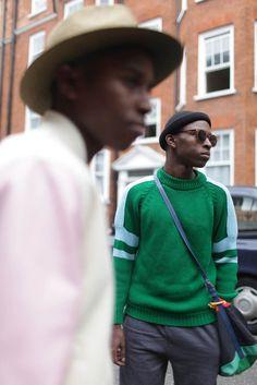 London Mens Fashion Week streetstyle