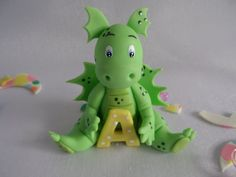 Hey, I found this really awesome Etsy listing at https://www.etsy.com/listing/187509920/baby-dinosaur-cake-topper-decoration