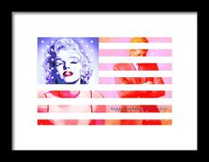Marilyn Monroe Happy Birthday Mr President 20160105 Framed Print by Wingsdomain Art and Photography