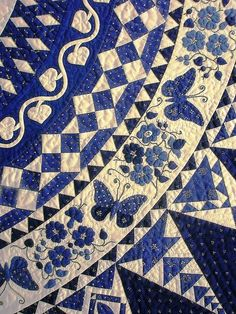 I'm not a quilter but this is beautiful!