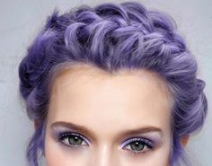 Perhaps some day I'll walk into the salon, show this photo, and walk out with this color.