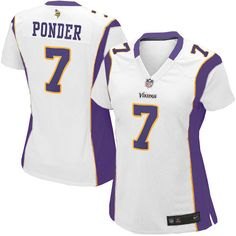 shop the official Vikings store for a Women's Nike Minnesota Vikings #7 Christian Ponder Elite White Jersey in the latest styles available online and in stores. Size: S,M 40,L 44,XL 48,XXL 52,XXXL 56,XXXXL 60.Totally free shipping and returns.$109.99