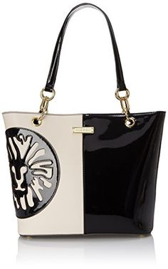 Anne Klein Double Trouble Tote Shoulder Bag, Black/Vanilla, One Size Anne Klein http://www.amazon.com/dp/B00YAFKXZI/ref=cm_sw_r_pi_dp_DX42vb15X3C8M