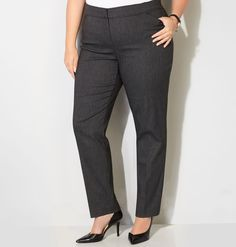 Shop chic menswear trousers for the office like our new plus size Herringbone Super Stretch Slim Leg Trouser with Comfort Waist available in sizes 14-32 online at avenue.com. Avenue Store