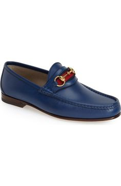 Gucci  New Classic  Bit Loafer (Men) available at  Nordstrom Bit Loafers c1daee44763