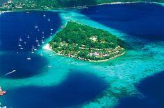 Iririki Island, Port Vila, Vanuatu|www.nusatrip.com/en/flights/to/port_vila_VLI #Nusatrip #travel #travelingideas #holiday #vanuatu #oceania #iririkiisland #island #destination #onlinetravelagency #tiketpesawat #hotel