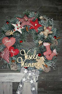 Burlap Wreath, Christmas Wreaths, European Countries, Czech Republic, Holiday Decor, Plants, Fun, Magic, Winter