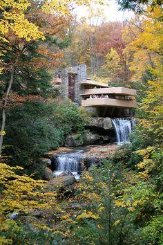Frank Lloyd Wright's genius creation, fallingwater