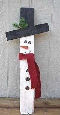 All you need are a few supplies and Glue Dots Advanced Strength adhesive to make this adorable wooden snowman for home. All you need are a few supplies and Glue Dots Advanced Strength adhesive to make this adorable wooden snowman for home. Wooden Christmas Crafts, Rustic Christmas, Christmas Projects, Christmas Fun, Holiday Crafts, Christmas Ornaments, Wooden Christmas Decorations, Snow Men Crafts, Christmas Crafts To Sell Bazaars