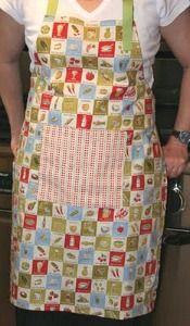 Learn How to Sew: Machine Sewing for Beginners a list of 65 free apron patterns