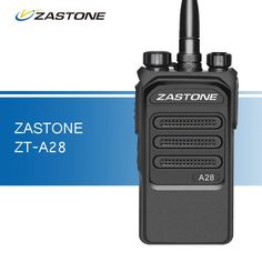 ZASTONE A28 10W Professional Walkie Talkie UHF 400-480MHz Two Way Ham Radio Transceiver