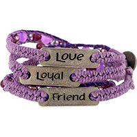 Wakami Loyal Friend Beaded Paw Wrap Bracelet at The Animal Rescue Site