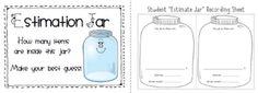 Sailing Through 1st Grade: Estimation Jar Label