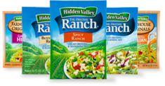 Ranch vinegarette