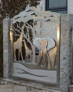 African Stainless Steel Gate contemporary outdoor products