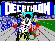 Daley Thompson's Decathlon, Sinclair ZX Spectrum 48k