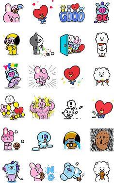 Pin by jesha samoranos on bts fanart Stickers Printable, Cute Stickers, Kawaii Stickers, Bts Chibi, Bts Meme, Fanart Bts, Les Bts, Drawing Journal, Kpop Drawings