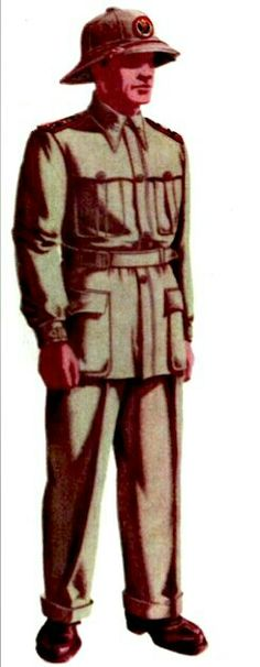 Italian Army in North Africa WWII, Captain, infantry - pin by Paolo Marzioli