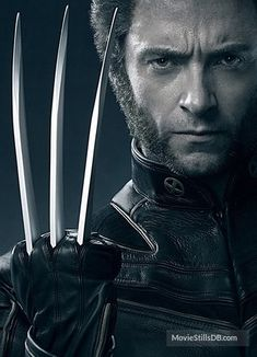 Hugh Jackman as The Wolverine. Hugh Wolverine, Wolverine Movie, Wolverine Art, Wolverine Poster, Hq Marvel, Marvel Heroes, Marvel Cinematic, Hugh Jackman, Marvel Universe