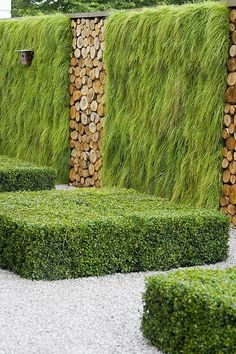 Have you tried this Garden Design advice? We love the design of this number 4496026665 pin. Give it a go now! Modern Landscaping, Landscaping Plants, Landscape Architecture, Landscape Design, Hampton Court Flower Show, Vertical Garden Design, Vertical Gardens, Log Wall, Dream Garden
