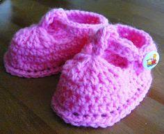 saramar blog: Háčkované bačkůrky - botičky - návody