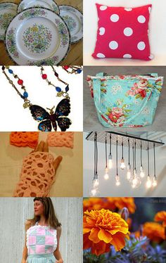 My purse is featured here - Spring Finds  by Holly on Etsy--Pinned with TreasuryPin.com