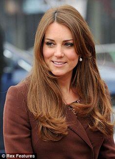 long hair cuts kate middleton - Google Search