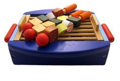 Santoys - Wooden Toys - Food & Shop Role Play - Bar-B-Q Grill: Amazon.co.uk: Toys & Games