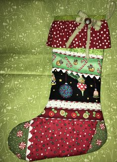 Customized and Personalized Christmas Stockings -- You select the theme, colors, fabrics, embroidery designs and embellishments! by gbarron on Etsy https://www.etsy.com/listing/550254206/customized-and-personalized-christmas