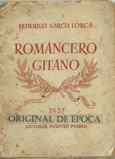 Romancero Gitano by Federico Garcia Lorca I know this by heart it is one of my favorite pieces from Lorca. Cool Books, I Love Books, Books To Read, My Books, Ap Literature, Book Of Poems, Forever Book, Book Challenge, Lectures
