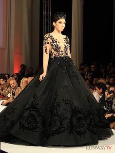Michael Cinco Gown Modeled by Elite Model Jordyn Silveira LA Fashion Week 2013