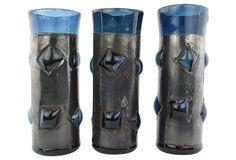 Artisan Tumblers w/ Metal Covers, S/3 on OneKingsLane.com