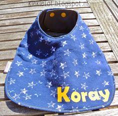 Slabber, slab, DIY, Flockfolie, baby, kraamcadeau http://kiekielot.blogspot.nl