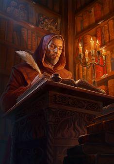 Fantasy Wizard, Fantasy Rpg, Medieval Fantasy, Fantasy Artwork, Fantasy Inspiration, Painting Inspiration, Character Inspiration, Character Concept, Character Art