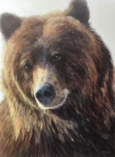 A collection of works by Canadian Artist Doria Moodie. Painter Doria Moodie is featured artist at the mountain galleries at the fairmont. Feather Painting, Love Painting, Bear Paintings, Bear Drawing, Yorky, Bear Illustration, Art Sculpture, Bear Art, Wildlife Art