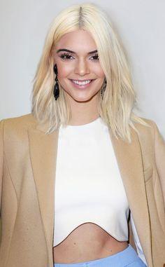 Kendall Jenner from Kardashian Hair Swap! Kim's Blond Bob on Other Family Members | E! Online