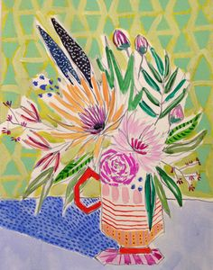 Lulie Wallace art prints #floral #botanical