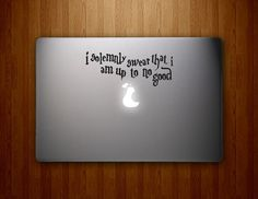 Potter Quote Harry Macbook Decal Mac book by HawkeyeDecals on Etsy, $6.50