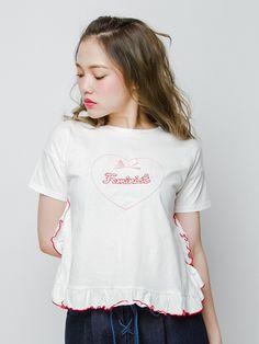 merry jenny メリージェニー公式通販│ランウェイチャンネルHeartFeministTシャツの詳細情報  RUNWAY channel(ランウェイチャンネル)(281620603301)