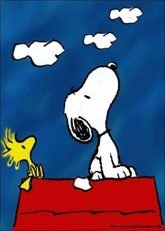 Snoopy and Woodstock. Memories Thank you Mr. Schultz.