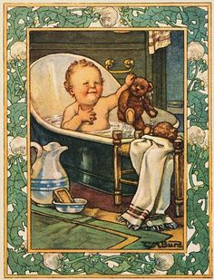 Clara M. Burd Baby's record book