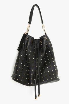 Total Stud Bucket Bag - StyleSays