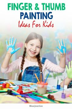 21 Creative Yet Easy Finger And Thumb Painting Ideas For Kids